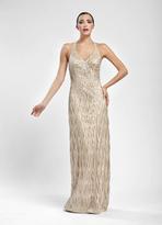 Sue Wong N5174 Dress In Peach Dress