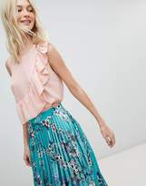 Vero Moda Ruffle Printed Blouse