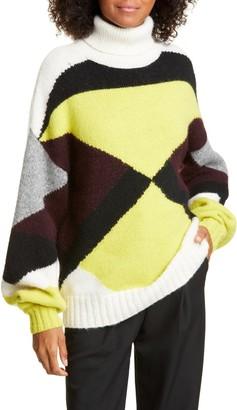A.L.C. Angelou Alpaca Blend Turtleneck Sweater