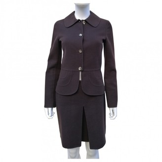 Celine Brown Wool Jacket for Women Vintage