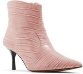Who What Wear Olivia Kitten Heel Bootie