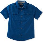 Calvin Klein Chambray Shirt, Big Boys (8-20)