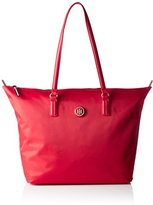Tommy Hilfiger Poppy Tote, Women's Rot (Tommy Red), 14 x 32 47 cm (wxhxd)