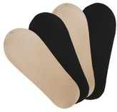 Peds Women's 4 Pack Seamless Ultra Low Footie