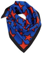 Marc Jacobs 'Star' Square Silk Scarf