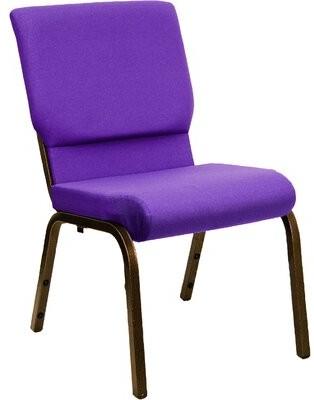 Ebern Designs MacArthur Guest Chair Seat Color: Purple