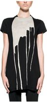 Drkshdw Black Bleach Vomit Long T-shirt