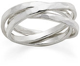 James Avery Jewelry James Avery Entwined Trio Sterling Ring