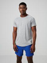 Frank + Oak drirelease® Workout T-Shirt in Grey Melange