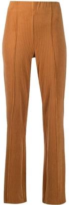 Han Kjobenhavn Ribbed Wide-Leg Trousers