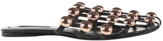 Alexander Wang Metallic Leather Ballet flats