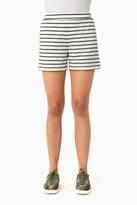 Jo-Jo Tuckernuck Olive Striped Jojo Shorts