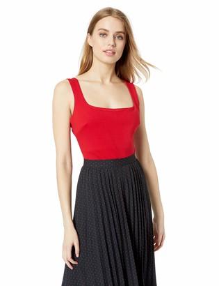 ASTR the Label Women's Nellie Sleeveless Solid Stretch Knit Bodysuit