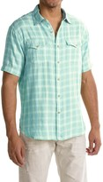 True Grit Mojito Check Shirt - Short Sleeve (For Men)