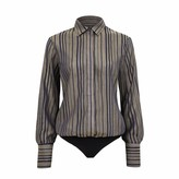 Saint Body Stripes Shirt Bodysuit