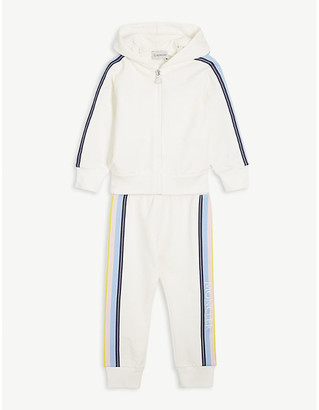 Moncler Striped cotton tracksuit 4-14 years
