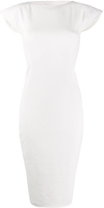 Rick Owens Open Back Midi Dress