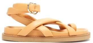 Joseph Toe-post Leather Sandals - Womens - Tan