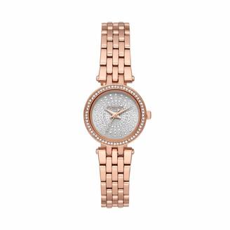 Michael Kors Women's Darci Quartz Watch with Stainless Steel Strap
