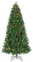 Philips 7ft Pre-Lit LED Artificial Christmas Tree Alberta Spruce - Multicolored Lights