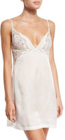 La Perla Jazztime Lace-Trim Nightgown