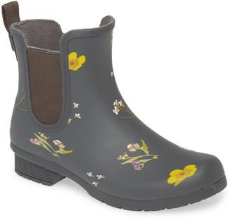 Chooka Flower Press Waterproof Chelsea Rain Boot