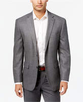 Vince Camuto Men's Slim-Fit Gray Micro-Check Wool Sport Coat
