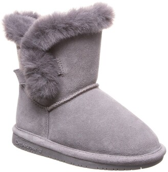 BearPaw Betsey Genuine Shearling Lined Suede Boot