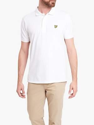 Lyle & Scott Plain Pique Polo Shirt