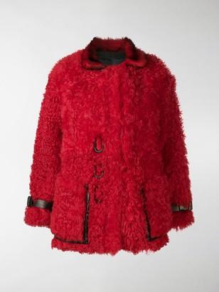 Tom Ford Oversized Shearling Coat