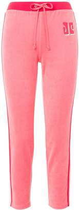 Couture Juicy CoutureJuicy COLORBLOCK LOGO TRK VELOUR PANT