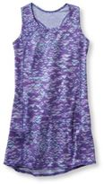 L.L. Bean Girls Fitness Dress, Racerback Print