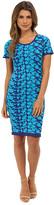 Nicole Miller Hinley Floral Knit Dress