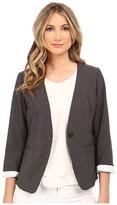 Kensie Heather Stretch Crepe Blazer KS2K2164 Women's Jacket