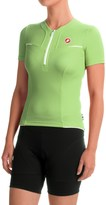 Castelli Subito Cycling Jersey - Zip Neck, Short Sleeve (For Women)