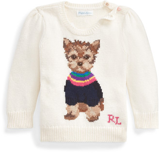 Ralph Lauren Dog Cotton-Blend Jumper