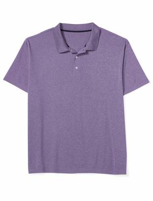 Amazon Essentials Men's Standard Quick-Dry Golf Polo Stripe Shirt