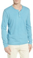 Lucky Brand Men's Raw Edge Henley