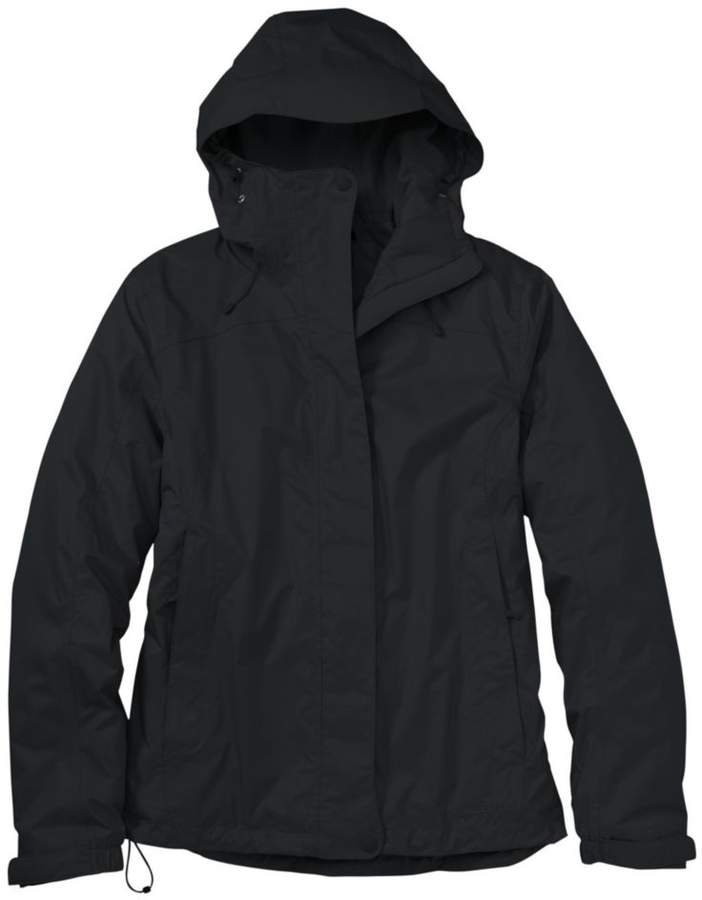 L.L.Bean Women`s Trail Model Rain Jacket- Fleece-Lined