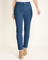 So Slimming Corduroy Girlfriend Ankle Jeans