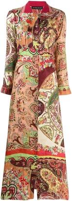 Etro Multicoloured Print Dress