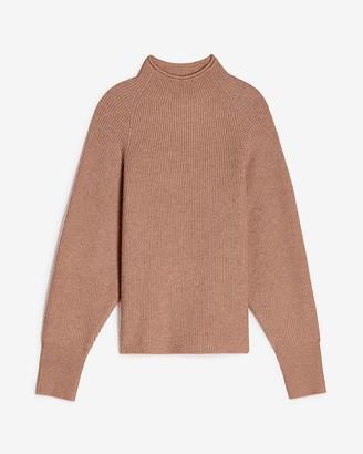 Express Mock Neck Dolman Sleeve Sweater