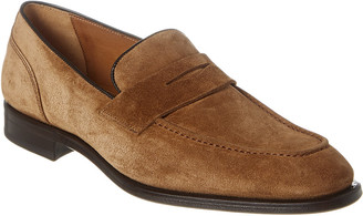 Antonio Maurizi Suede Penny Loafer