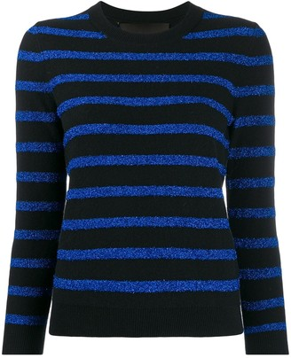 Marc Jacobs Glitter Stripe Jumper