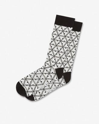 Express Layered Triangle Dress Socks