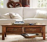 Pottery Barn Bowry Reclaimed Wood Coffee Table