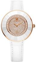 Swarovski Octea Dressy White Rose Gold Tone Watch