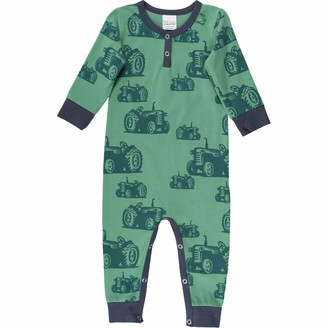 Fred's World by Green Cotton Baby Boys' Farming Shaping Bodysuit