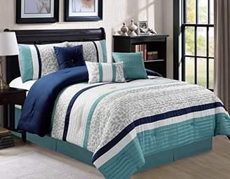 Luxlen 7 Piece Luxury Bedding Set