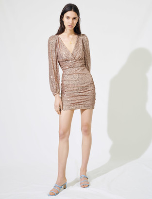 Maje Sparkly mini dress